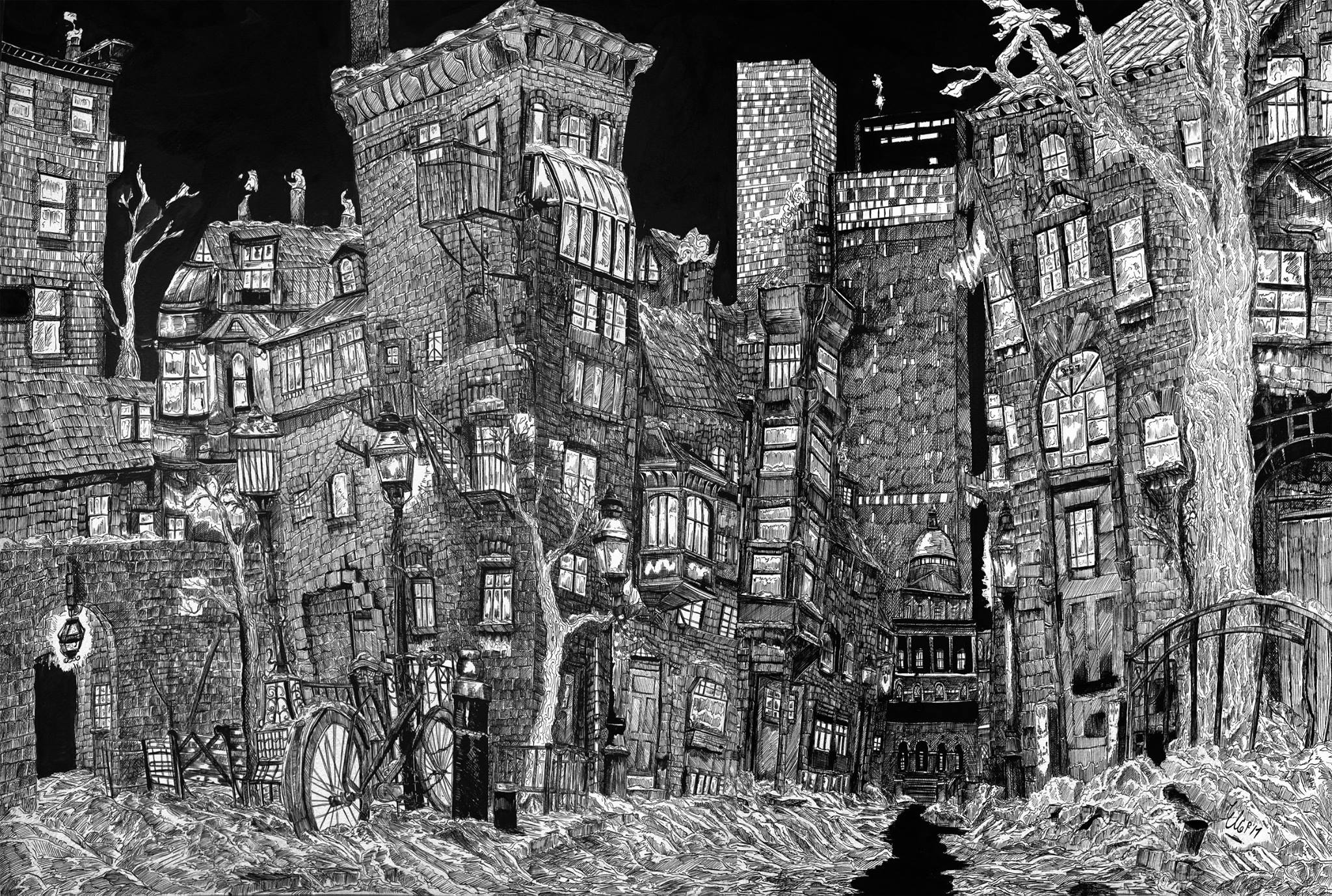 Learn Something New: Pen and Ink Drawing Workshop   Public